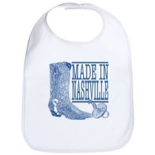 Nashville Kid -- Country Boots in Blue Bib