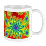 Spiral and Star Small Mugs