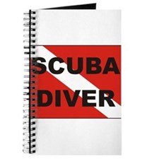 """Scuba Diver"" flag Journal"