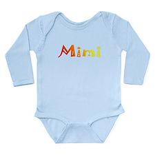 Mimi Long Sleeve Infant Bodysuit