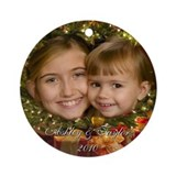 Ashley & Taylor Ornament