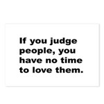 Quote on Judging People Postcards (Package of 8)