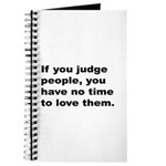 Quote on Judging People Journal
