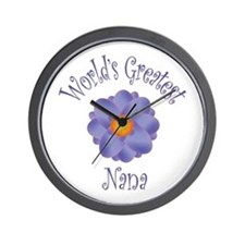 World's Greatest Nana Wall Clock