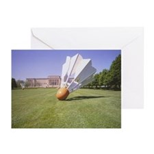 Nelson/Atkins Shuttlecock Greeting Cards