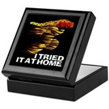 I TRIED IT AT HOME Keepsake Box