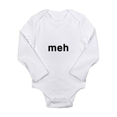Meh Long Sleeve Infant Bodysuit