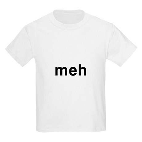 Meh Kids Light T-Shirt