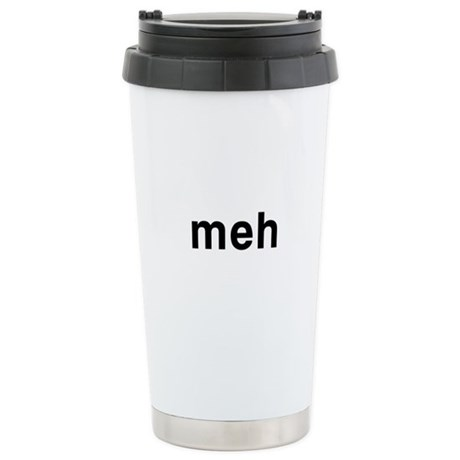 Meh Ceramic Travel Mug