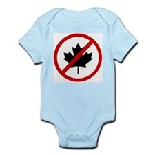 Anti Canadians Infant Bodysuit