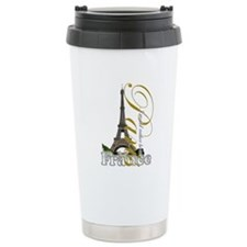 Paris, France - Ceramic Travel Mug