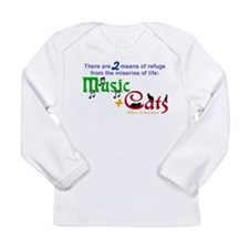 Miseries of Life ... Long Sleeve Infant T-Shirt