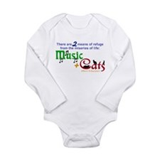 Miseries of Life ... Long Sleeve Infant Bodysuit