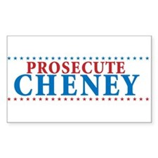 Prosecute Cheney Decal