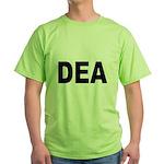 DEA Drug Enforcement Administration (Front) Green