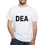 DEA Drug Enforcement Administration (Front) White