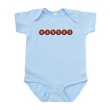 Kansas BB Infant Bodysuit