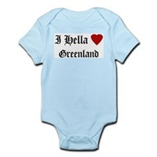Hella Love Greenland Infant Creeper