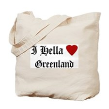 Hella Love Greenland Tote Bag