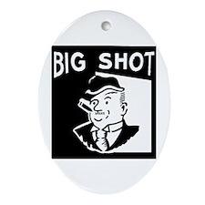 Big Shot Oval Ornament