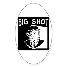 Big Shot Oval Decal