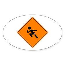 Streaker Sign Stickers