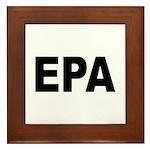 EPA Environmental Protection Agency Framed Tile
