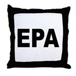 EPA Environmental Protection Agency Throw Pillow