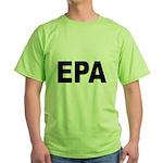 EPA Environmental Protection Agency (Front) Green