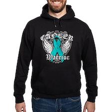 Ovarian Cancer Warrior Hoodie