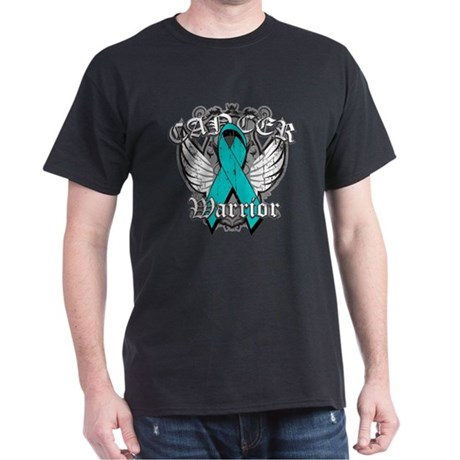 Ovarian Cancer Warrior Dark T-Shirt