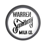 Warren Sanitary Wall Clock