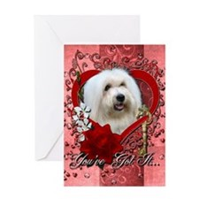 Valentines - Key to My Heart Greeting Card