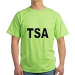 TSA Transportation Security Administration Green T