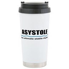 Asystole Ceramic Travel Mug