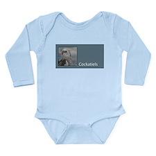Cute Cockatiel Long Sleeve Infant Bodysuit