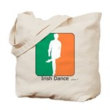 Irish Dance Tricolor Boy Tote Bag
