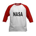 NASA (Front) Kids Baseball Jersey