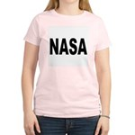 NASA Women's Pink T-Shirt