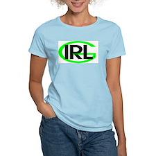Irish Girl Women's Pink T-Shirt
