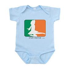 Irish Dance Tricolor Girl Infant Bodysuit