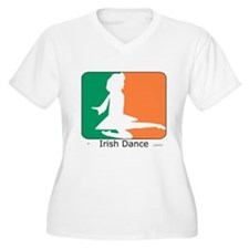 Irish Dance Tricolor Girl T-Shirt