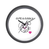 BUNNY FACE Wall Clock