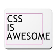 CSS is Awesome Mousepad