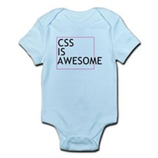 CSS is Awesome Infant Bodysuit