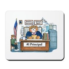 Female Principal Mousepad