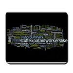 Expat Aid Worker Mousepad