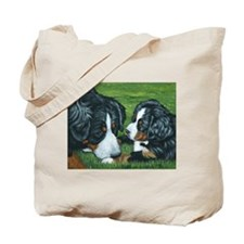 Bernese Mountain Dog Mom and Tote Bag