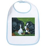 Bernese Mountain Dog Mom and Bib