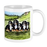 Bernese Moutain Dog Puppies Small Mug